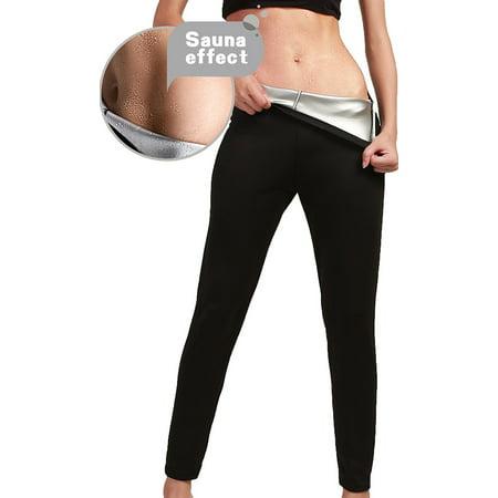099bef10d8ffd Smarit - Women Slimming Pants High Waist Sauna Hot Sweat Thermo Workout  Weight Loss Body Shaper - Walmart.com