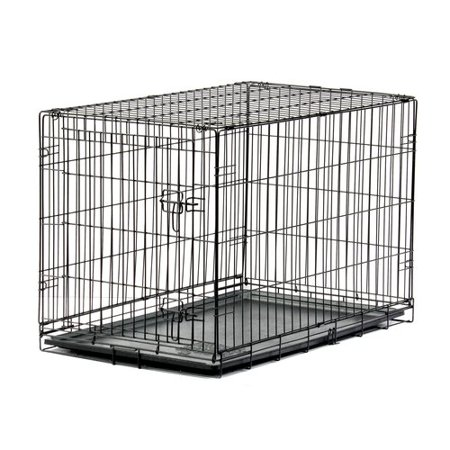 Blue Beagle Dog Folding Crate, 36