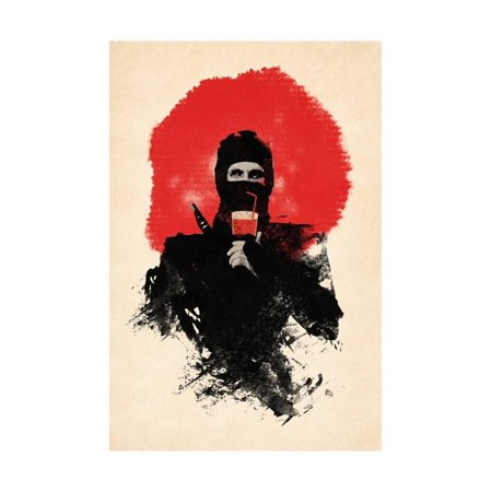 American Ninja Print Wall Art By Robert Farkas