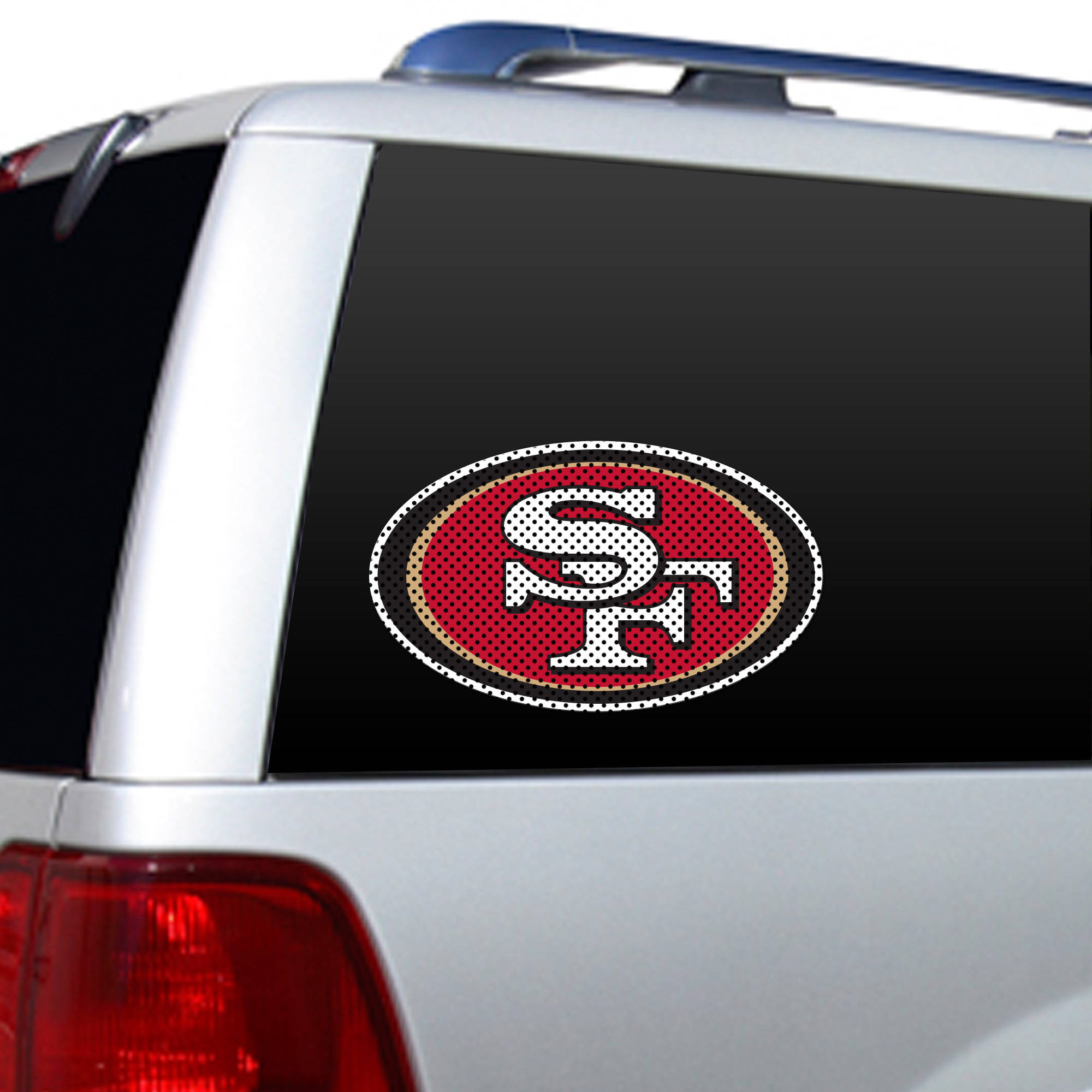 San Francisco 49ers Window Film