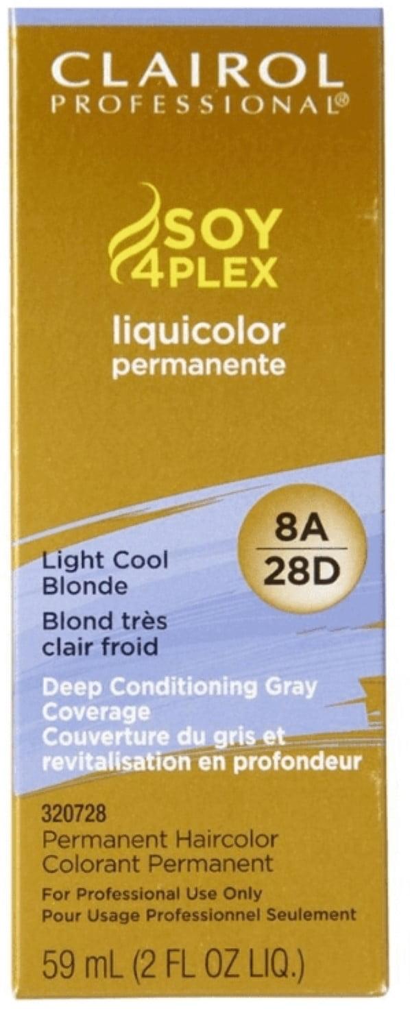 Clairol Professional Liquicolor 8a28d Light Cool Blonde 2 Oz