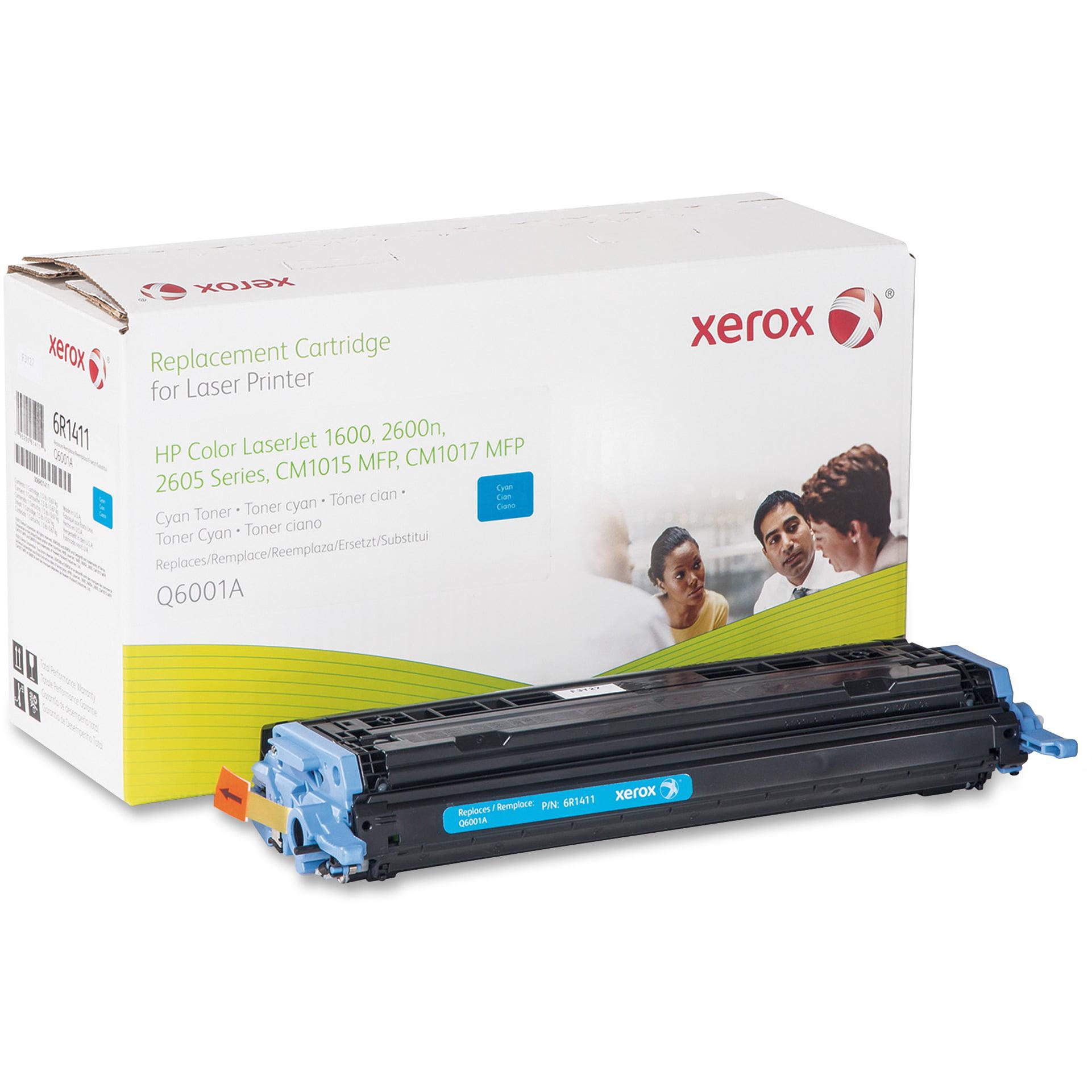 Xerox Remanufactured Toner Cartridge - Alternative for HP 124A (Q6001A), 1 Each (Quantity)