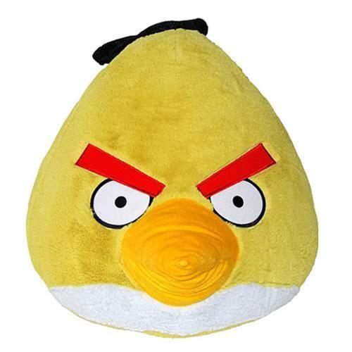 """Angry Birds 16"""" Yellow Bird Plush Officially Licensed"""