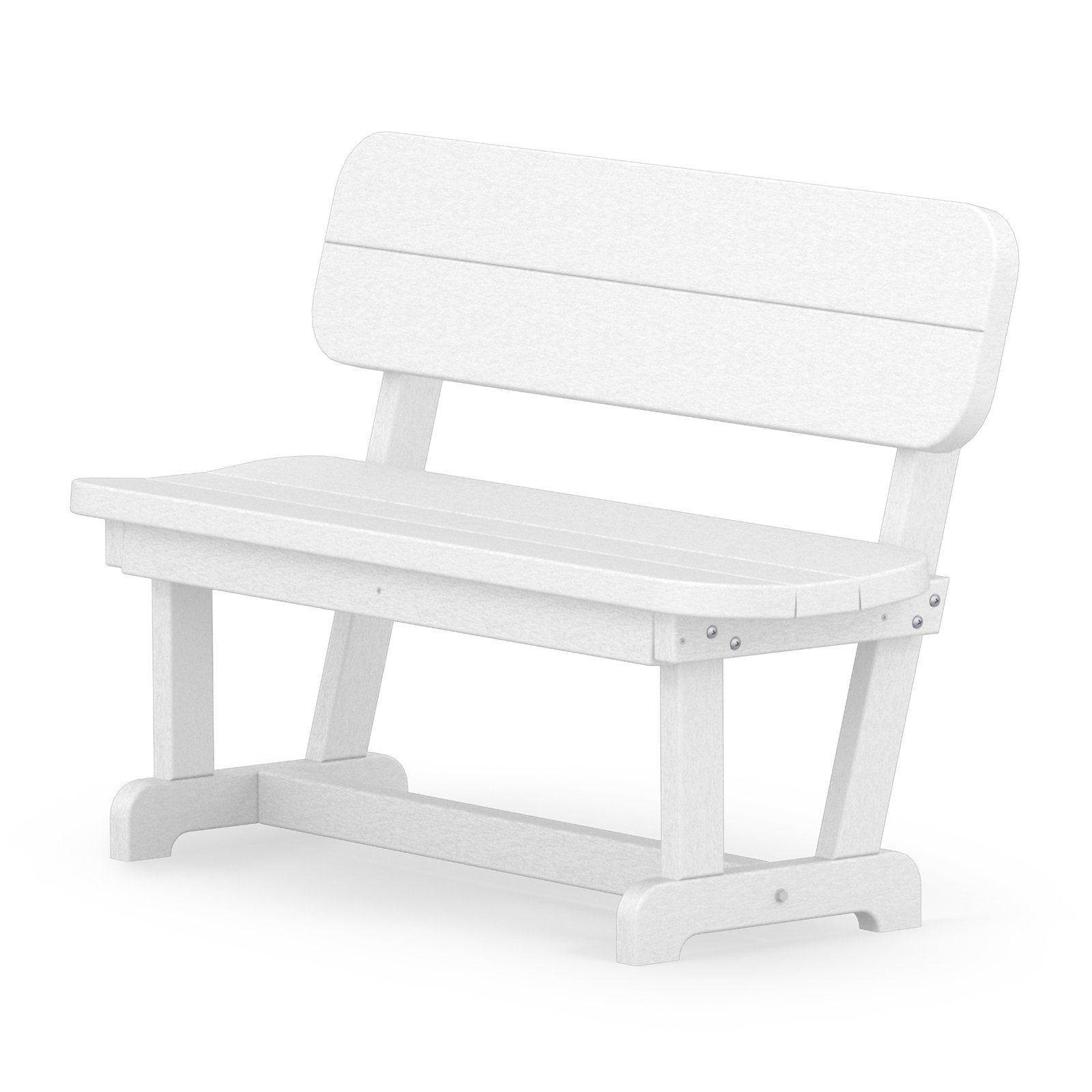 POLYWOOD Park Recycled Plastic 48 in. Park Bench by Polywood