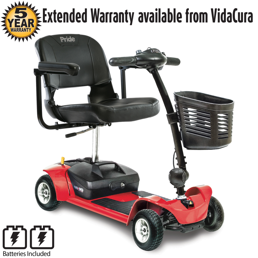 Pride Mobility GoGo Ultra X 4-Wheel Scooter w/ Avail Ext Warr