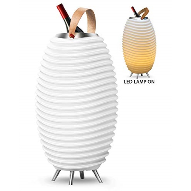 Kooduu Synergy 50 3 in 1 LED Lamp Bluetooth Speaker /& Wine Cooler FREE