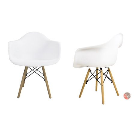 Superb Set Of 2 Modern Basics Eames Stylish Lily Leisure Chair Machost Co Dining Chair Design Ideas Machostcouk