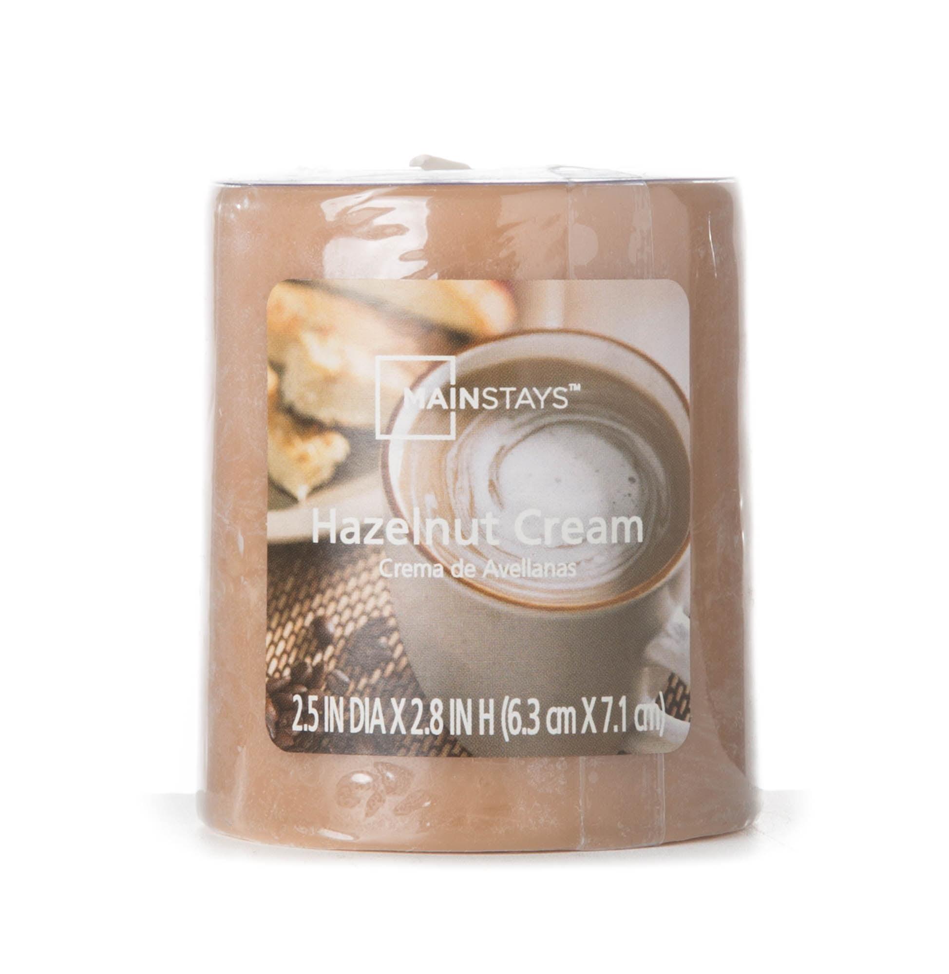 "Mainstays 2.8"" Pillar Candle, Hazelnut Cream by MVP Group International"