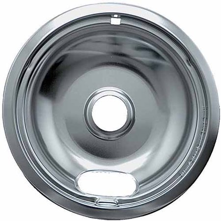 Range Kleen 1 Large Drip Bowl  Style A Fits Plug In Electric Ranges Amana Crosley Frigidaire Kenmore Maytag Whirlpool  Chrome