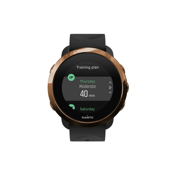 Suunto - 3 Fitness Heart Rate Monitor Watch - Copper / Black