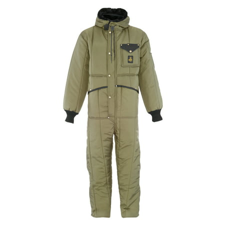 RefrigiWear Men's Iron-Tuff Insulated Coveralls with Hood -50F Cold Protection - Halloween 4 Coveralls