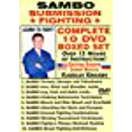 SAMBO SUBMISSION FIGHTING, COMPLETE 10 DVD BOXED SET, Starring Russian Master Vladislav Koulikov. Over 10 Hours