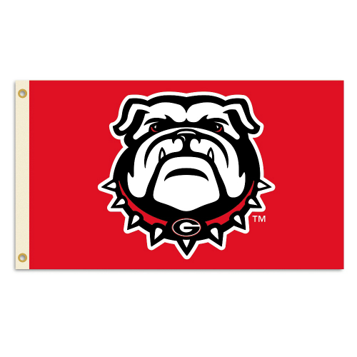 Bsi Products Inc Georgia Bulldogs Flag with Grommets Flag with Grommets