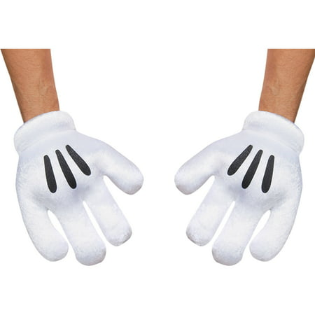 Mickey Mouse Accessories (Mickey Mouse Gloves Adult Halloween)