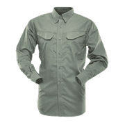 24-7 SHIRT; MEN'S LIGHTWEIGHT LONG SLEEVE 65/35 P/C R/S FIELD