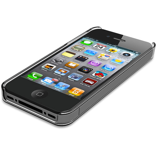 iLuv Gossamer Clear Hard Shell Case for Apple iPhone 5/5S/SE - Clear