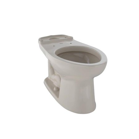 C744E-03 Drake Elongated Toilet Bowl, Bone ()