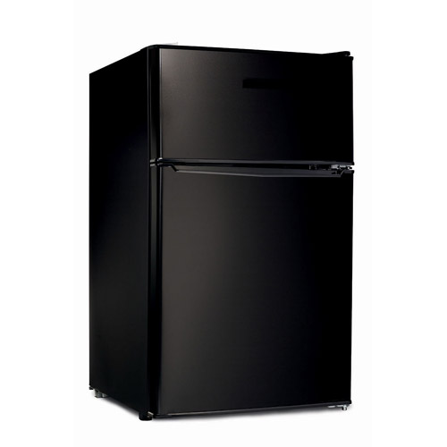 Hamilton Beach 3.1 cu ft Double Door Compact Refrigerator, Black