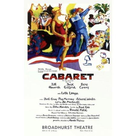 Cabaret  Broadway  Movie Poster  11 X 17