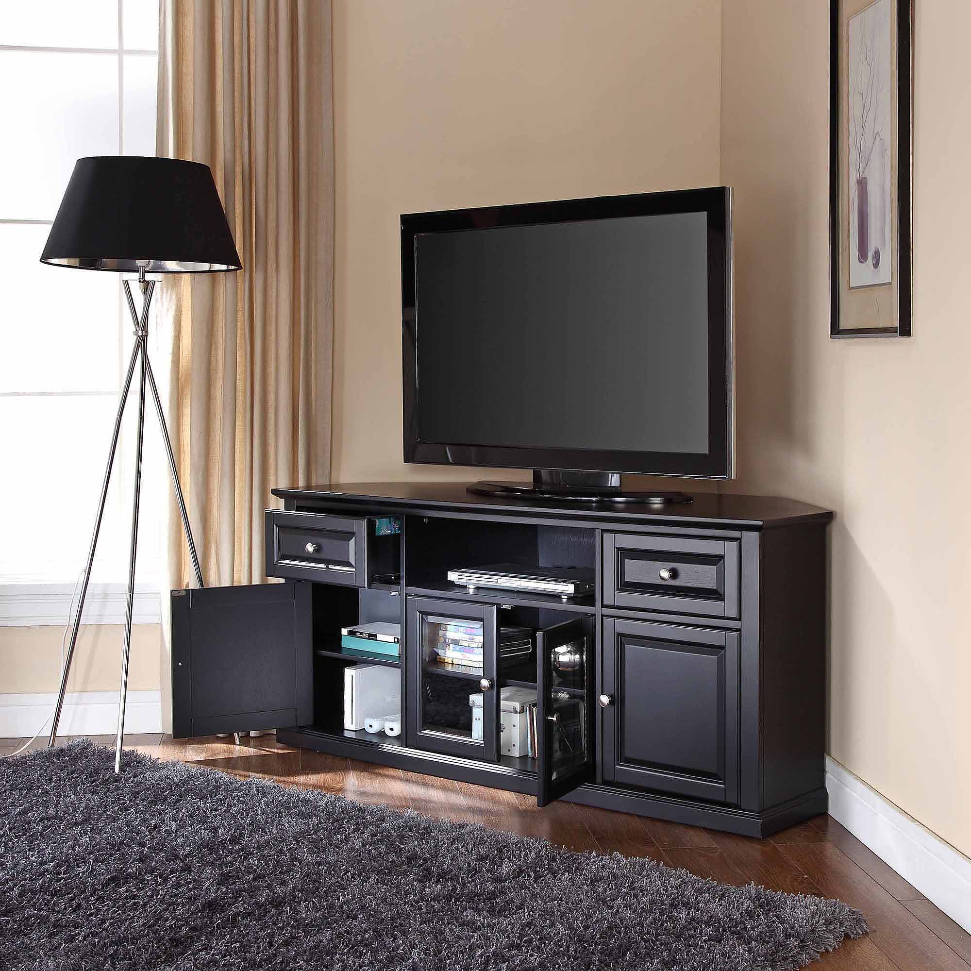 Crosley Furniture Corner TV Stand for TVs up to 60""