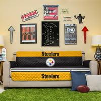 Pittsburgh Steelers Sofa Protector - Black