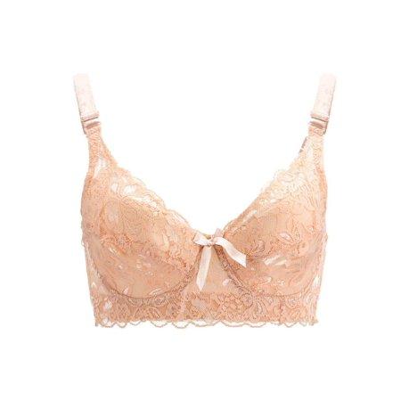 79fa3678a4d0d Meigar - Meigar Sexy Women Ladies Lace Push Up Underwear Deep V Bra Size 36  38 40 42 44 C D - Walmart.com