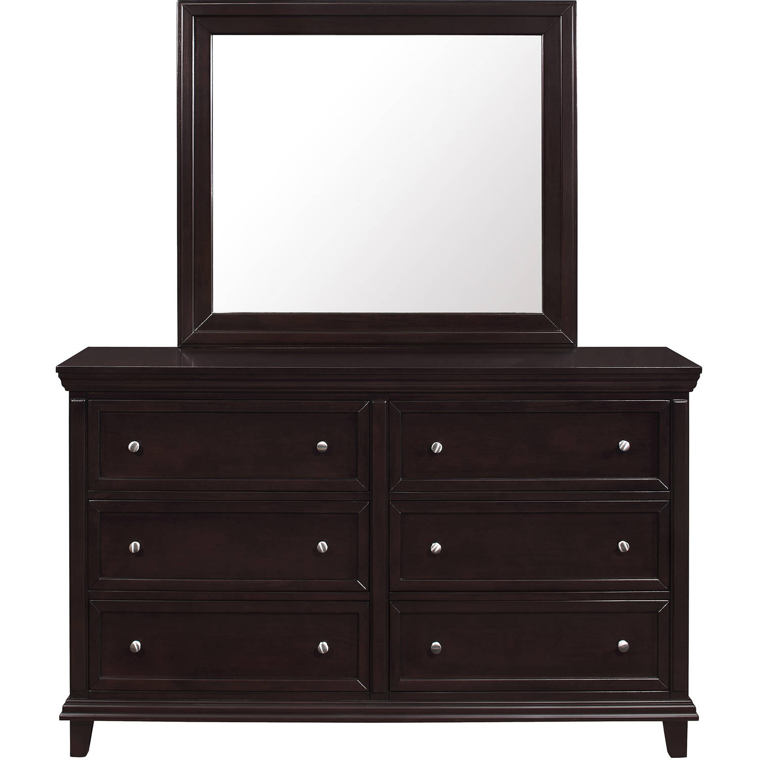 """Lifestyle Solutions Davina Mirror 37""""x40"""" (Mirror Only, Dresser Sold Separately)"""