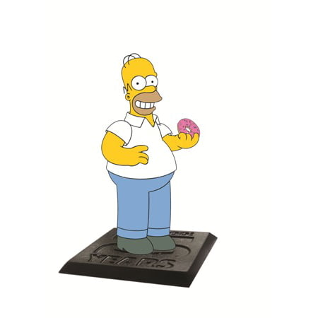 Action Figure - Simpsons - Homer and Donut 2.75
