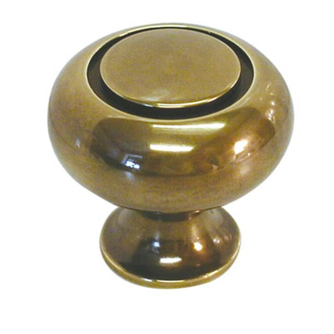 BWK119 07 Power & Beauty 1. 25 inch Cabinet Knob, Antique Brass