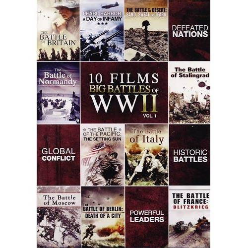 Big Battles Of WWII, Volume One (10 Films)