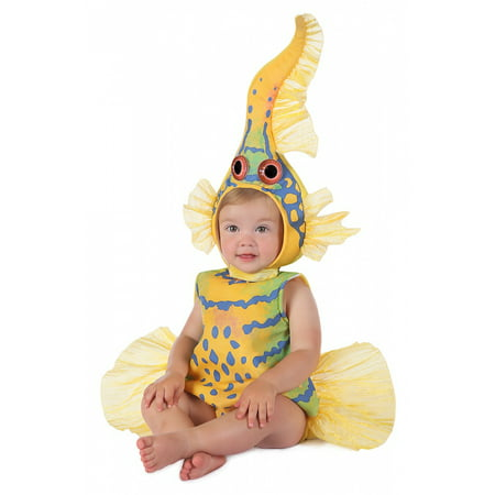 Anne Geddes Yellow Goby Fish Baby Infant Costume - Baby 18-24](Fish Toddler Costume)