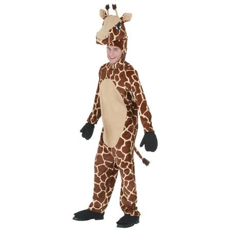 Adult Jolly Giraffe Costume - Giraffe Costume Diy