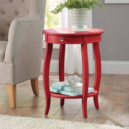 Better Homes Amp Gardens Round Accent Table With Drawer