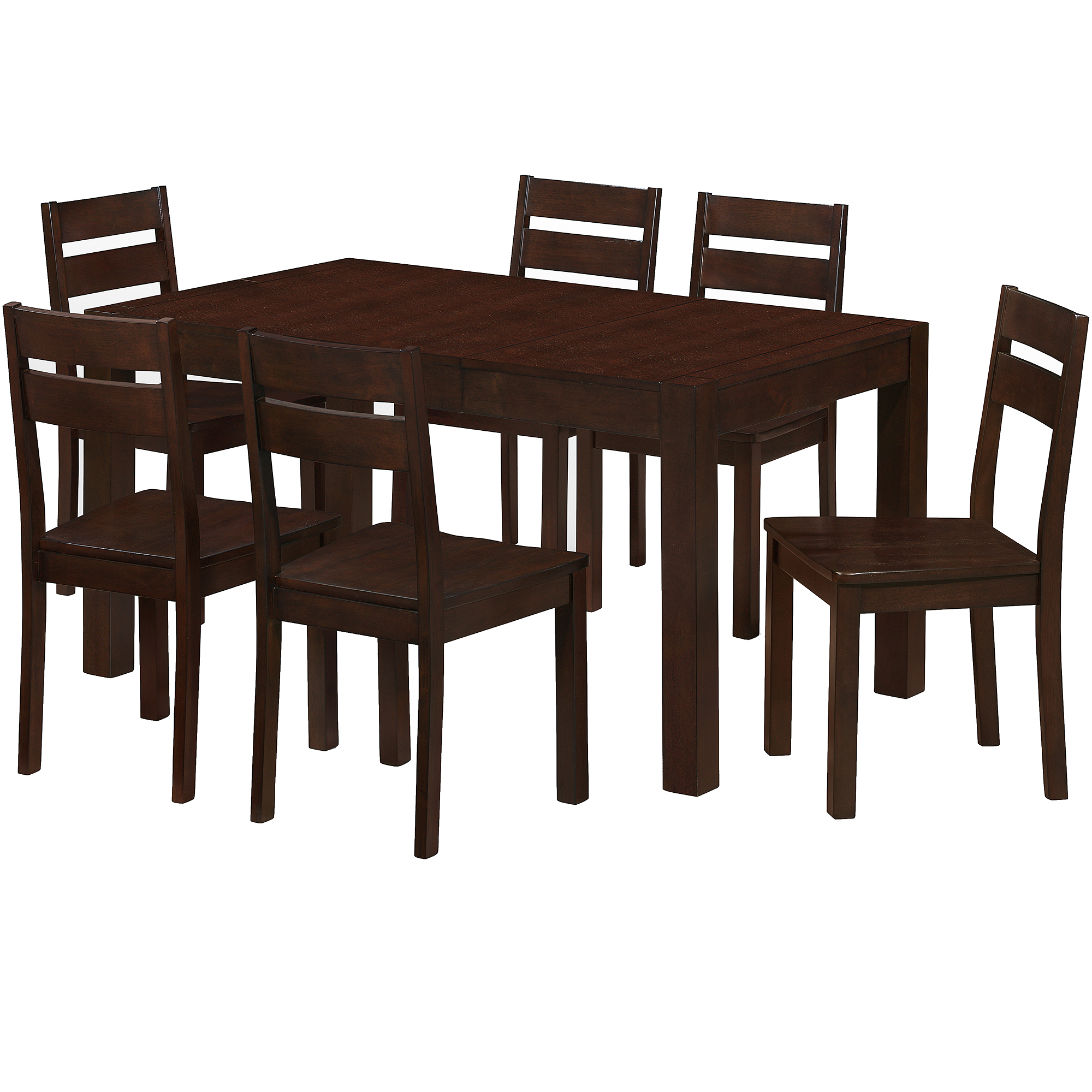Imagio Home Borken Dining Table, Madeira Chocolate Finish