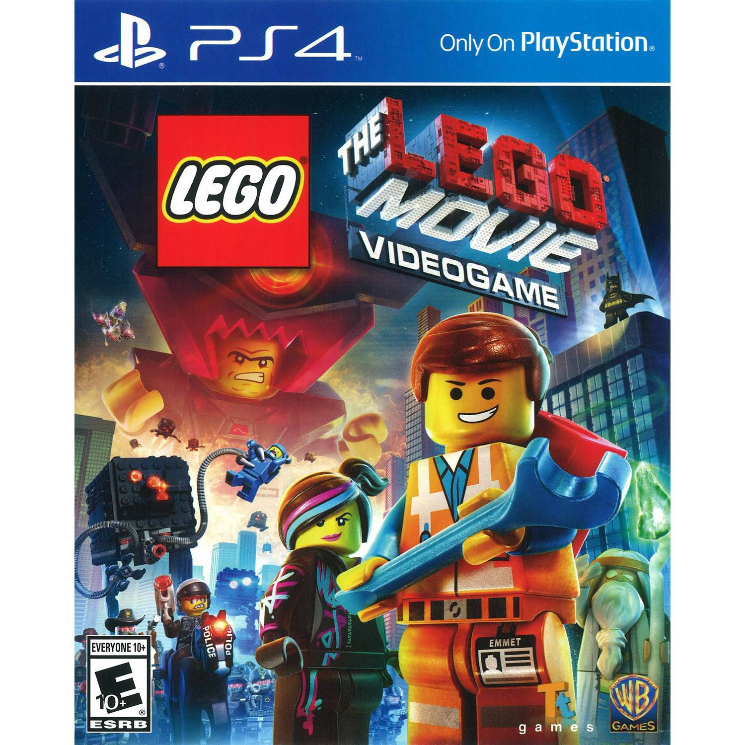 Warner Bros. The LEGO Movie Videogame (PS4)