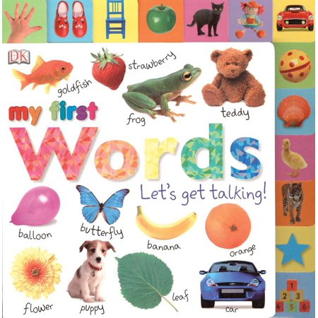 Tabbed Board Books: My First Words : Let's Get Talking!