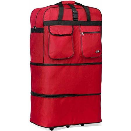30 600D WHEEL BAG - RED (Goalie Wheel Bag)
