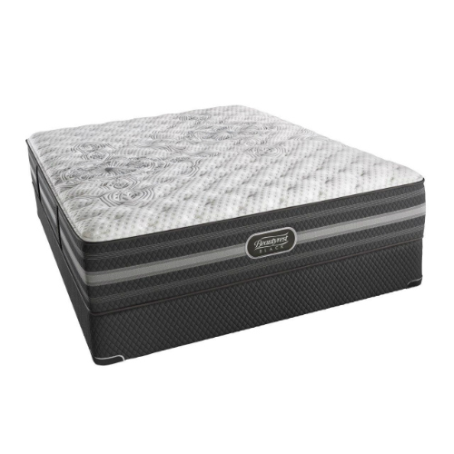 Calista King Size Extra Firm Mattress and Low Profile Box