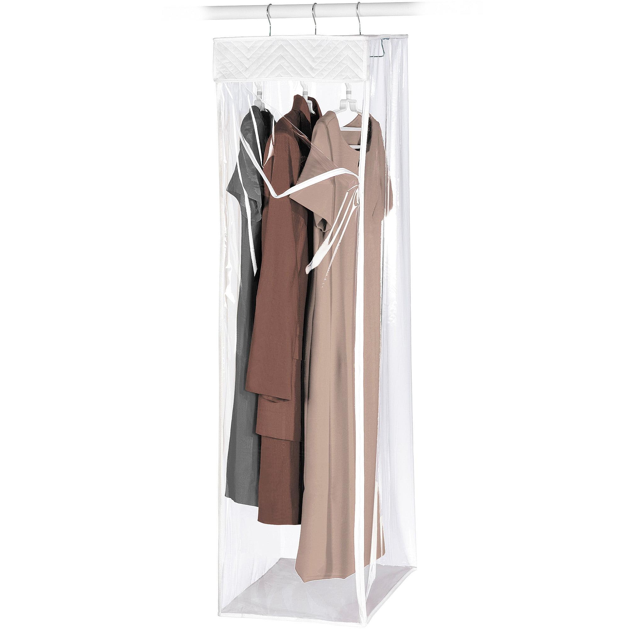 ad68e5f9eaf Whitmor Hanging Garment Bag Zippered Closet Com