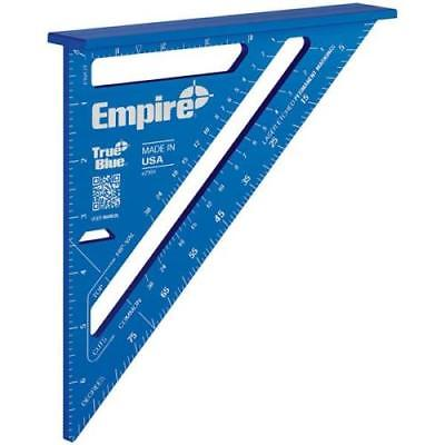 "Empire 7"" TRUE BLUE Laser Etched Rafter Square by"