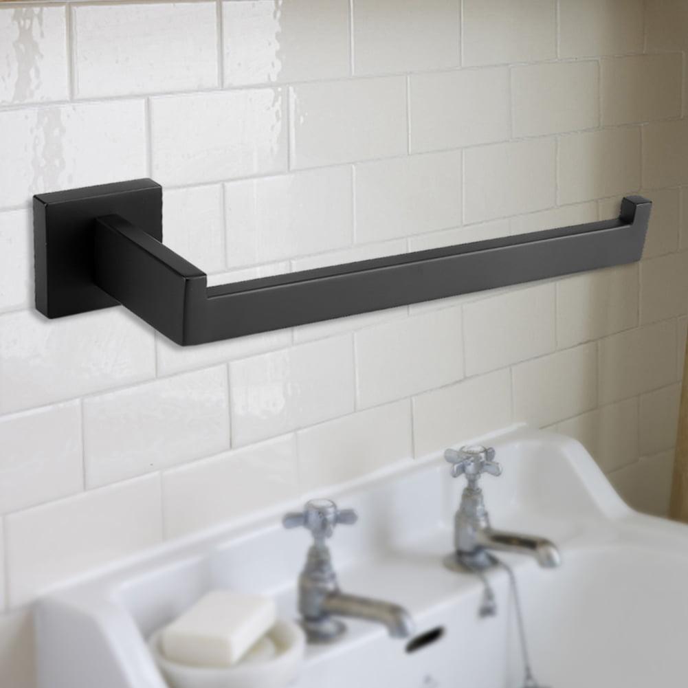 TOPINCN Stainless Steel Kitchen Bathroom Bathhouse Washroom Toilet Paper Holder Storage Towel Rack , Towel Rack Rail,... by