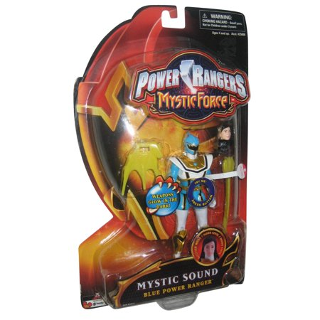 Power Rangers Mystic Force Blue Ranger Sound Bandai Action Figure - Blue Mystic Ranger