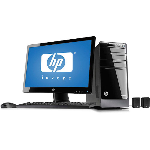 "HP Black Pavilion P7-1157CB Desktop PC Bundle with AMD Quad-Core A6-3600 Accelerated Processor, 8GB Memory, 23"" LED Monitor, 1TB Hard Drive and Windows 7 Home Premium"