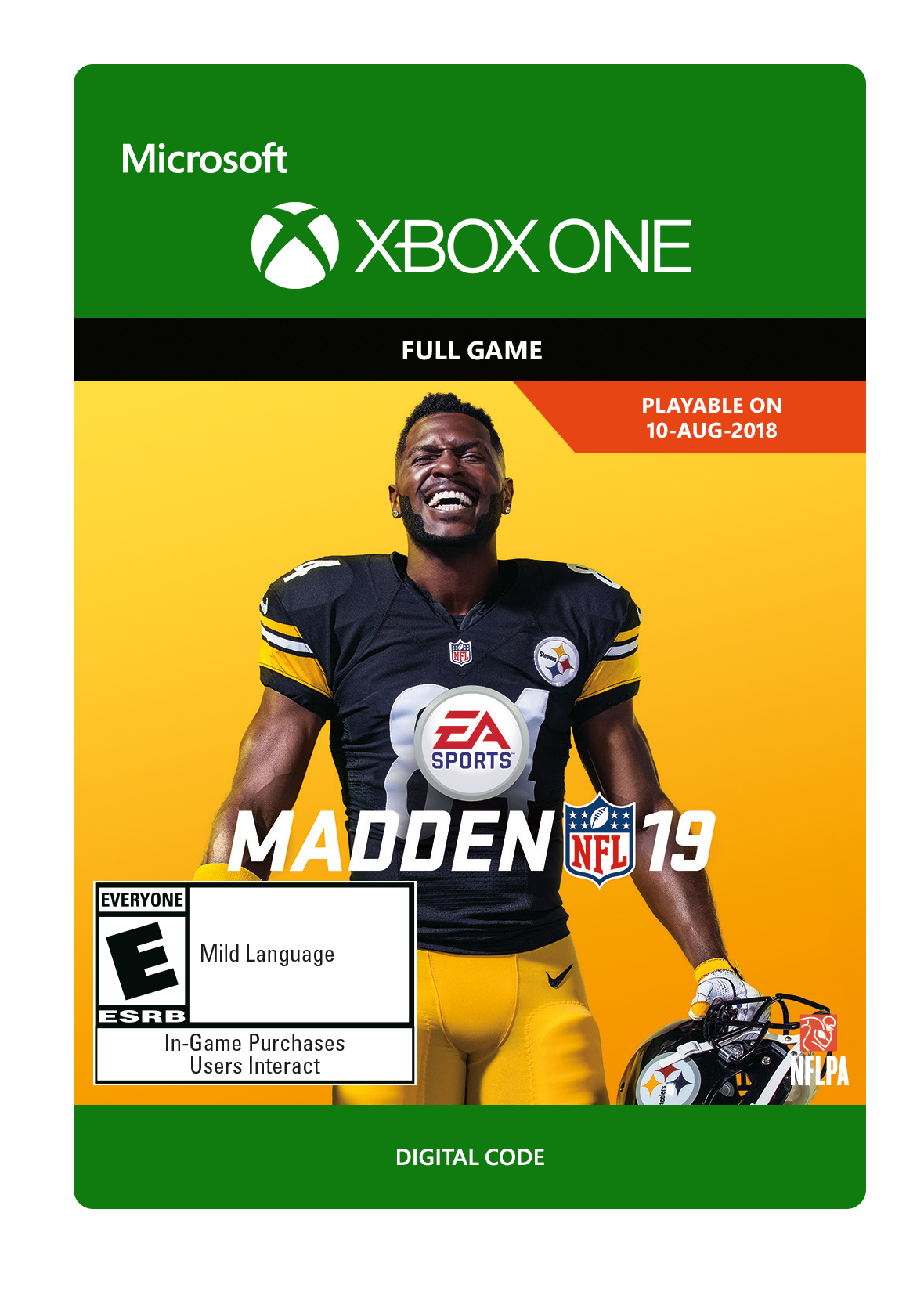 Madden Nfl 19 Electronic Arts Xbox One Digital Download Walmart Com Walmart Com