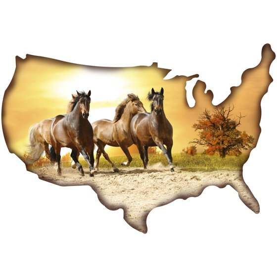 Fine Metal Horse Wall Art Contemporary - Wall Art Design ...