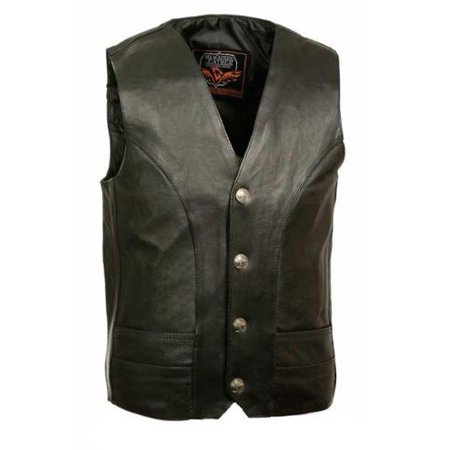 Men's Classic Vest w/ Buffalo Nickel Snaps (50) - 50 Inches -