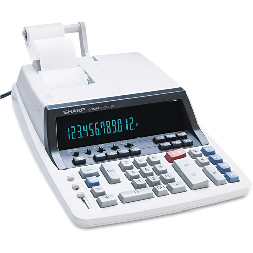 Sharp QS-2760H Desktop Calculator