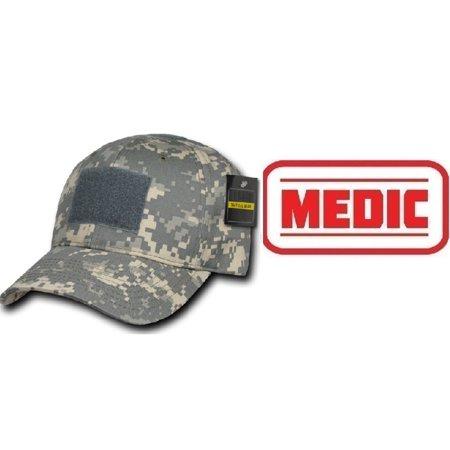 Ultimate Arms Gear ACU Digital Camo Cap + MEDIC PATCH WHITE - Walmart.com 8494a7c94db