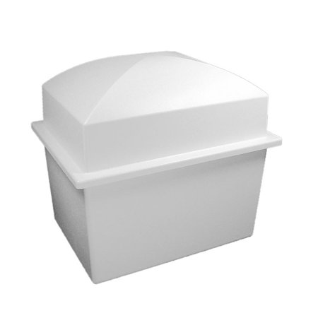 Pearl Finish Cremation Urn Vault - Double