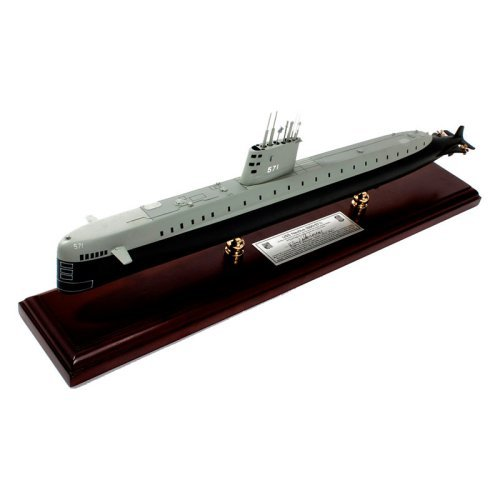 USS Nautilus SSN 571 signed by Eugene Wilkinson - 1/150 Scale
